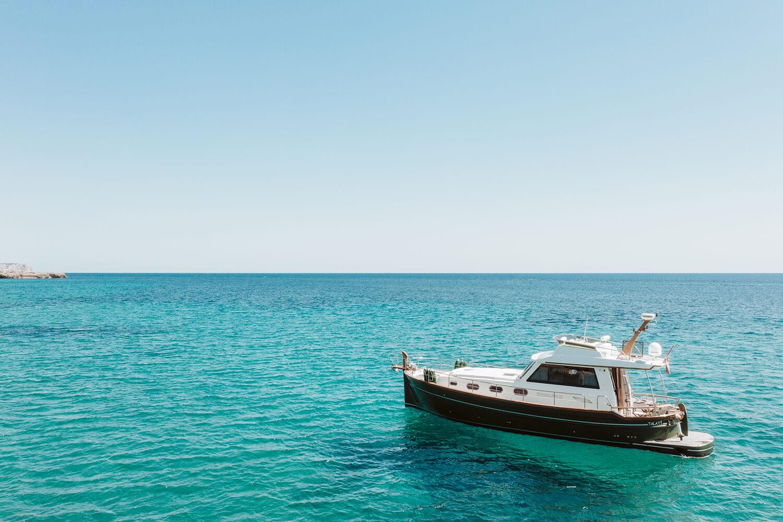 Torralbenc's private boat.
